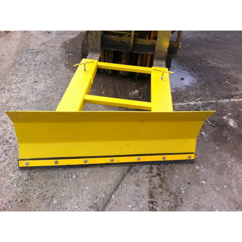 Used Forklift Snow Blades : Mm snow plough attachment for forklift truck